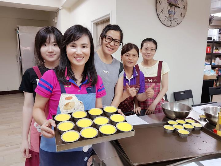 107年07月02日 手作蛋糕吐司芝麻養生蛋糕烤布蕾