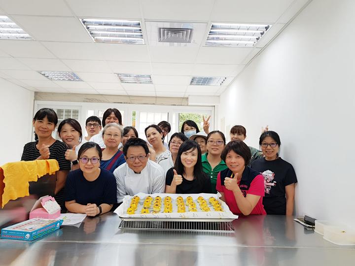 108-08-18 黃金蛋黃酥分享課程