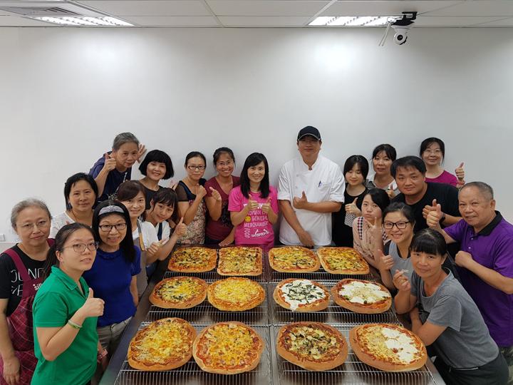 108-09-08 手工藝式披薩
